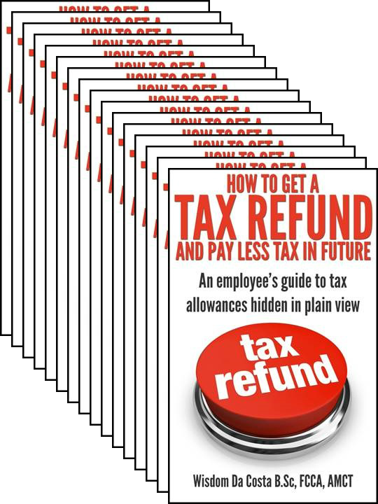 How to pay less tax - employee tax refund book