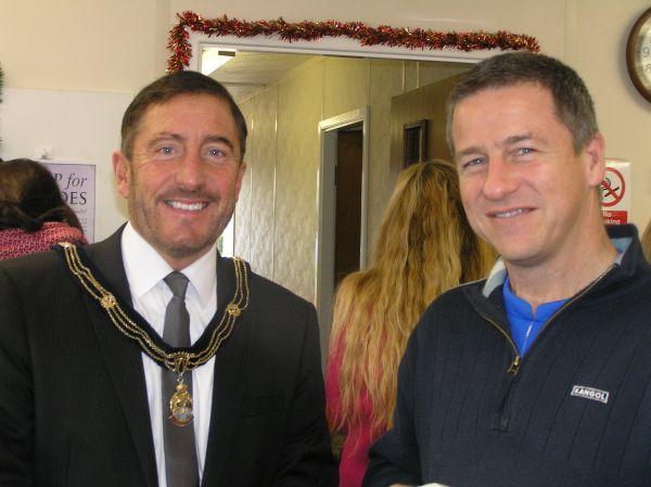 Deputy Mayor and Simon Cross talk community