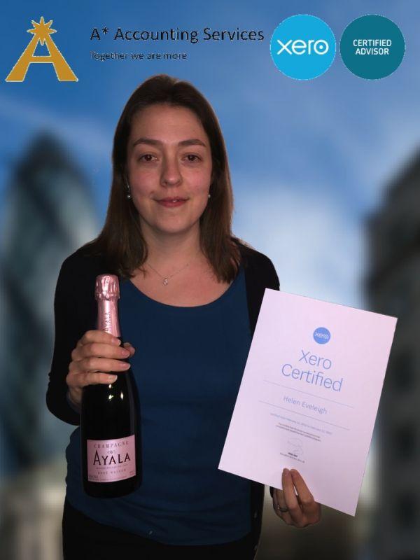 Xero Certified, Helen Eveleigh