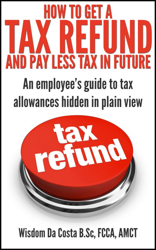 How to pay less tax employee tax refund book